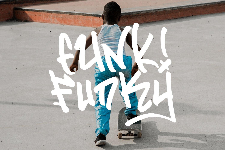 Flim Flom - Graffiti Font example image 5