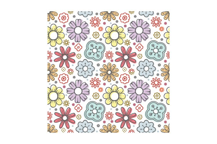Floral seamless pattern. Part 1 example image 2