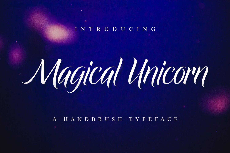 Magical Unicorn example image 1