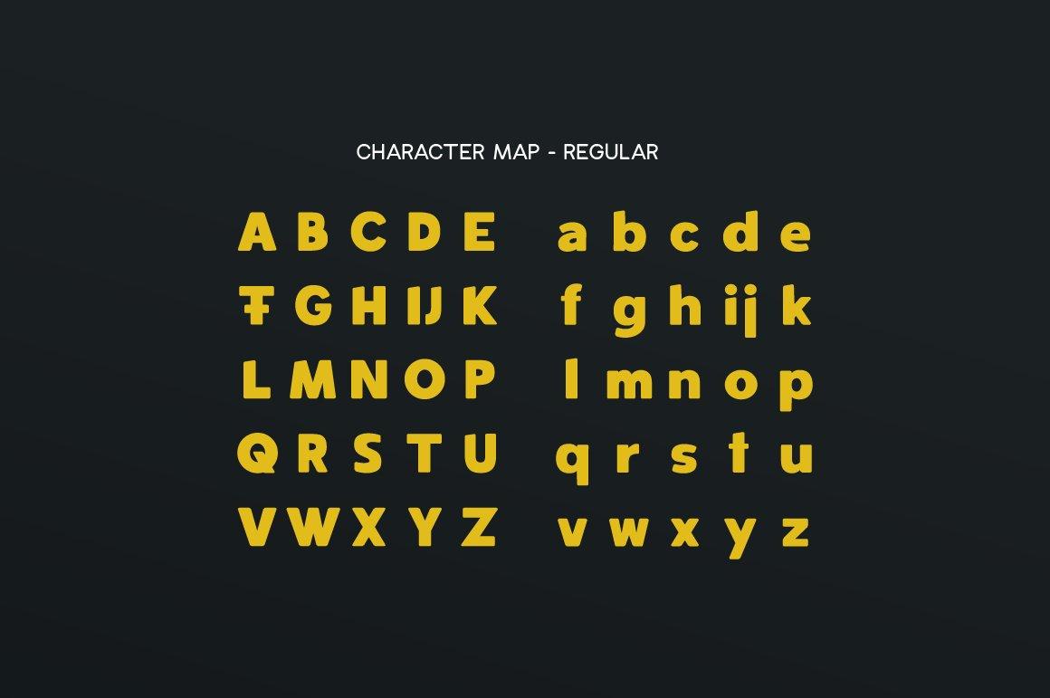 Spotlight - Sans Serif Regular with optional Stencils example image 7