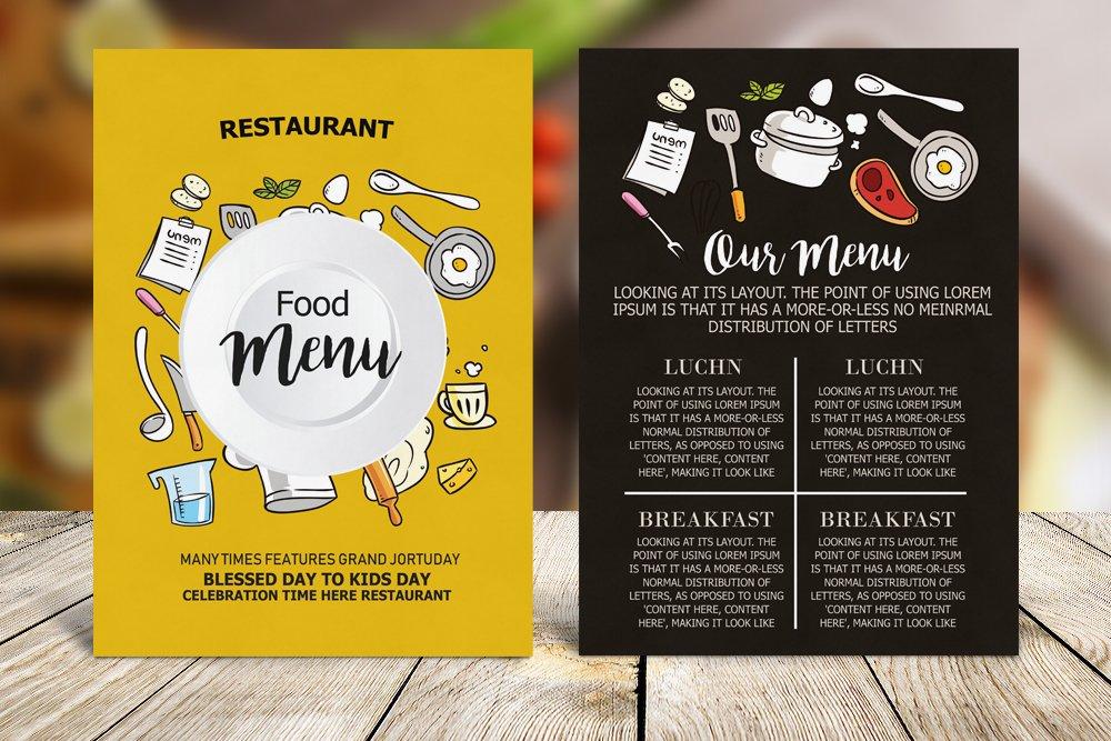Restaurant Food Menu example image 4