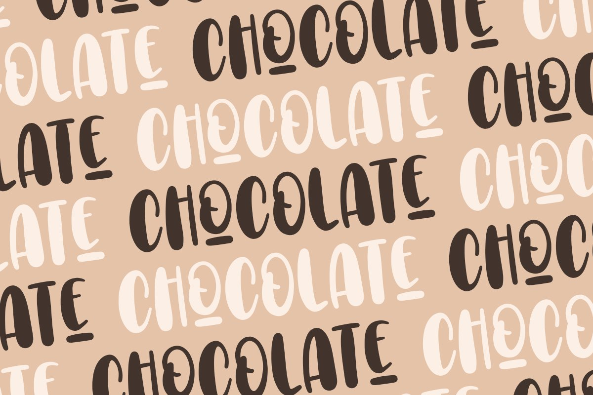 Choco Letters | Handwritten Font example image 6