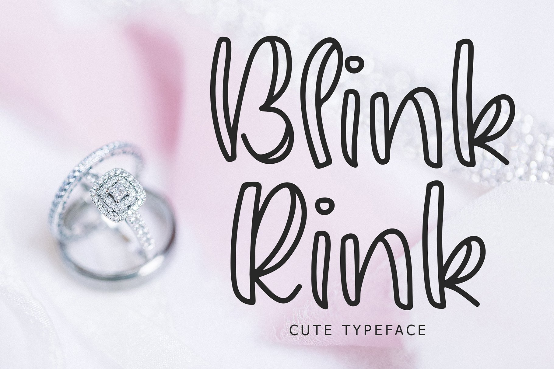 Blink Rink Cute Typeface example image 1