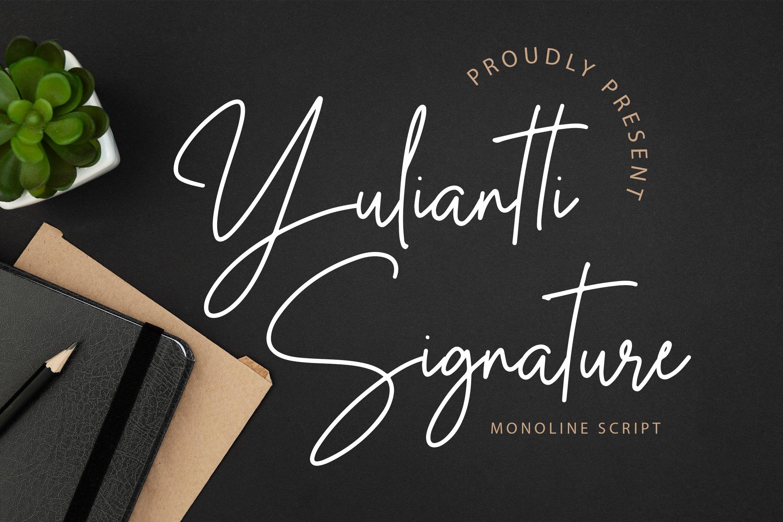 Yuliantti Signature example image 1