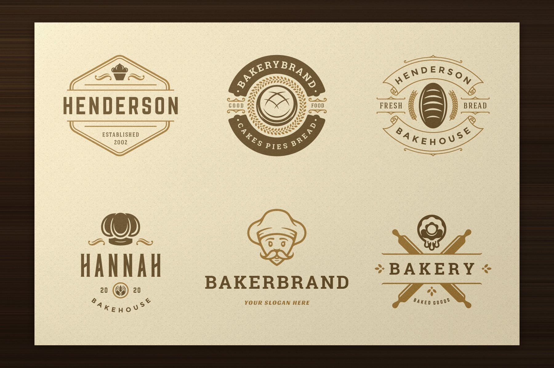 Bakery Logos and Badges example image 6