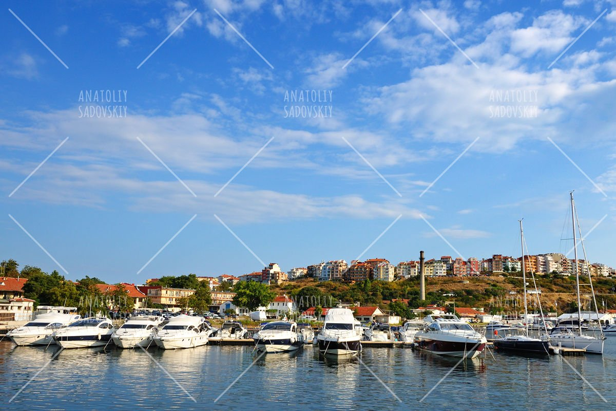 Yacht club in Sozopol, Bulgaria example image 1
