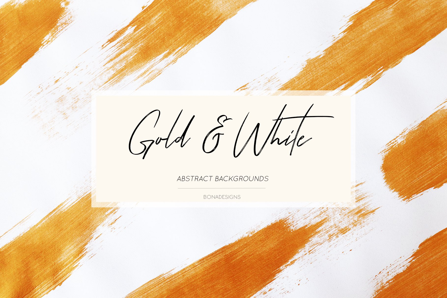 Gold Digital Papers Hand Painted Abstract Textures 288281 Backgrounds Design Bundles