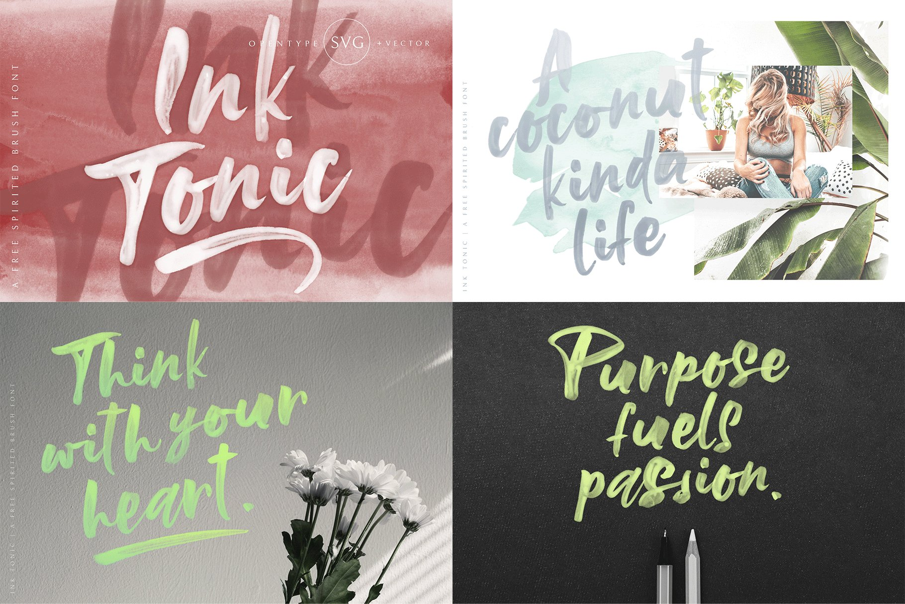 The Hand Lettered Font Bundle example image 14