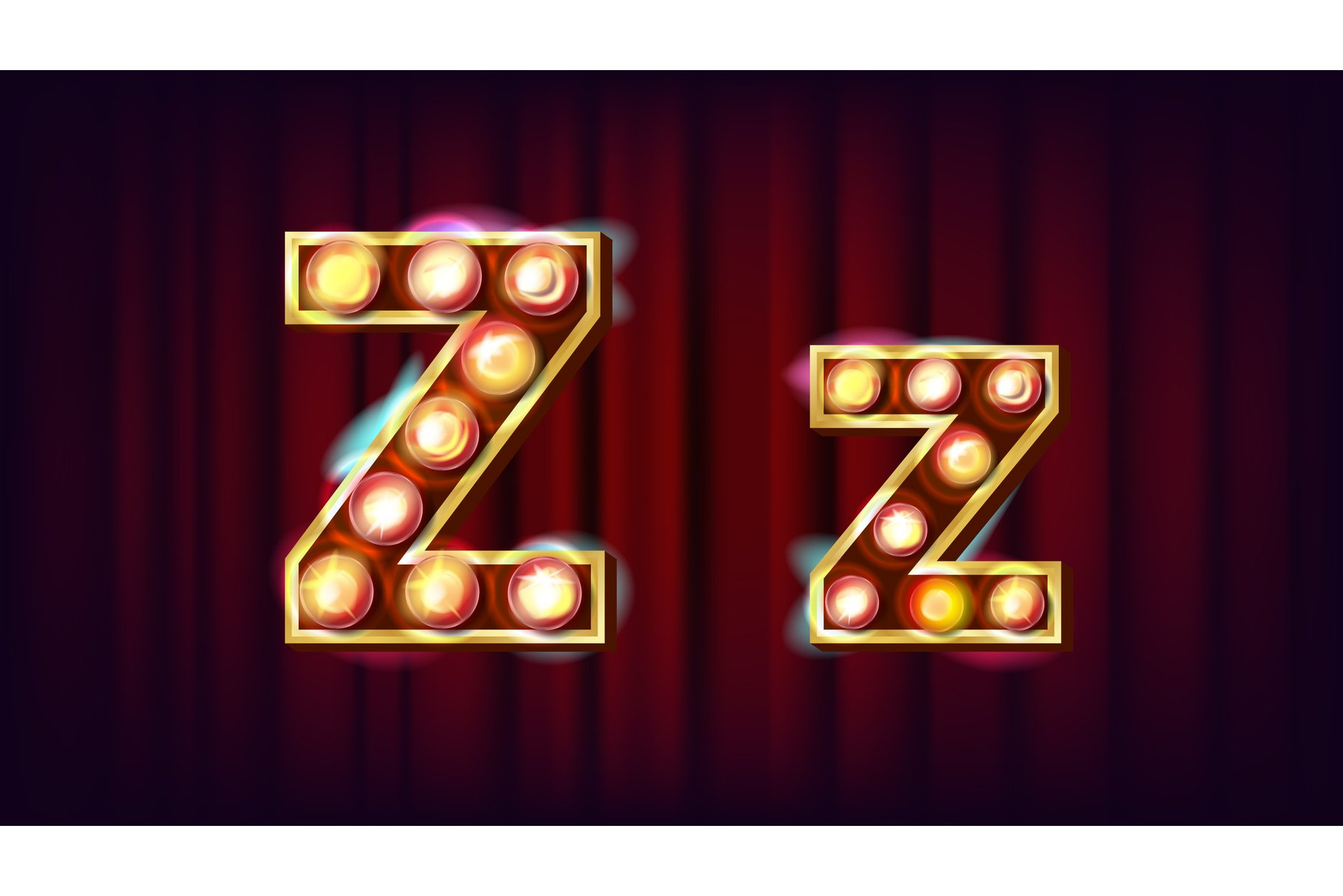 Z Letter Vector. Capital example image 1