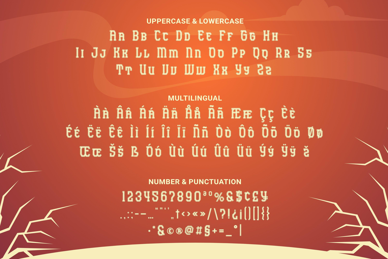 Antalu Font example image 4