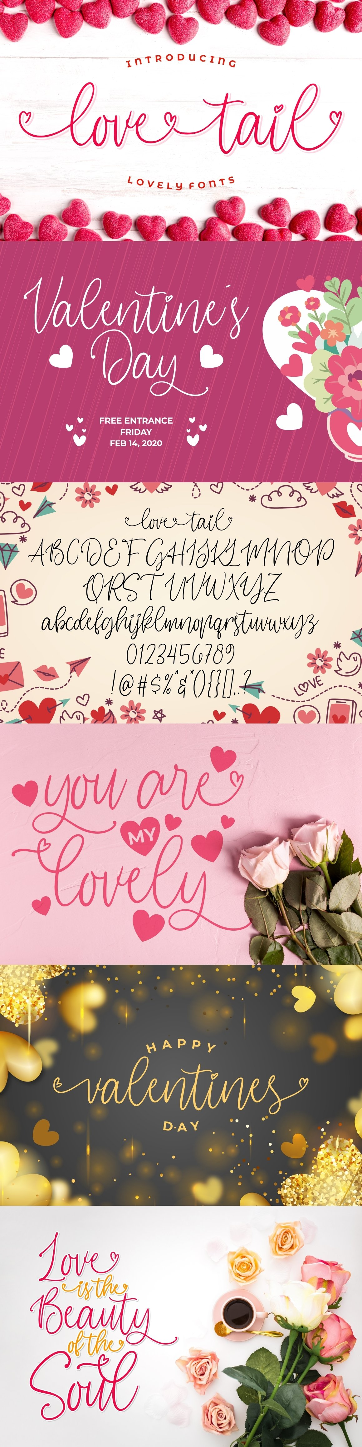 Love Tail | Lovely Font example image 9