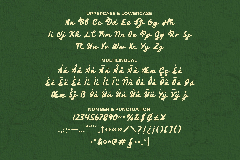 Asmananjana Font example image 2