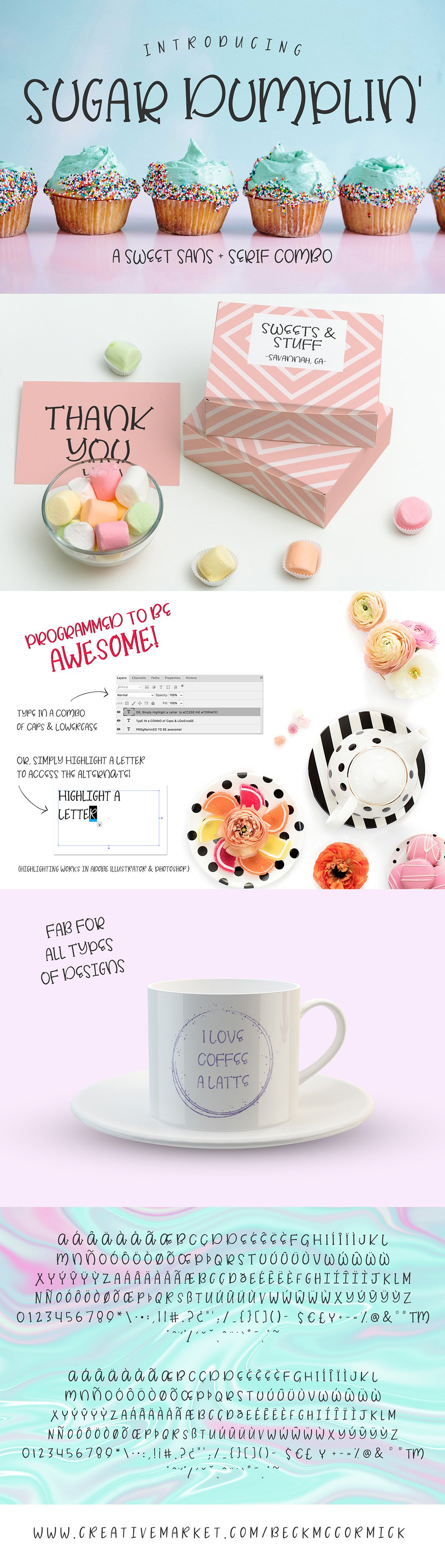 The Crafter's Font Bundle example image 17