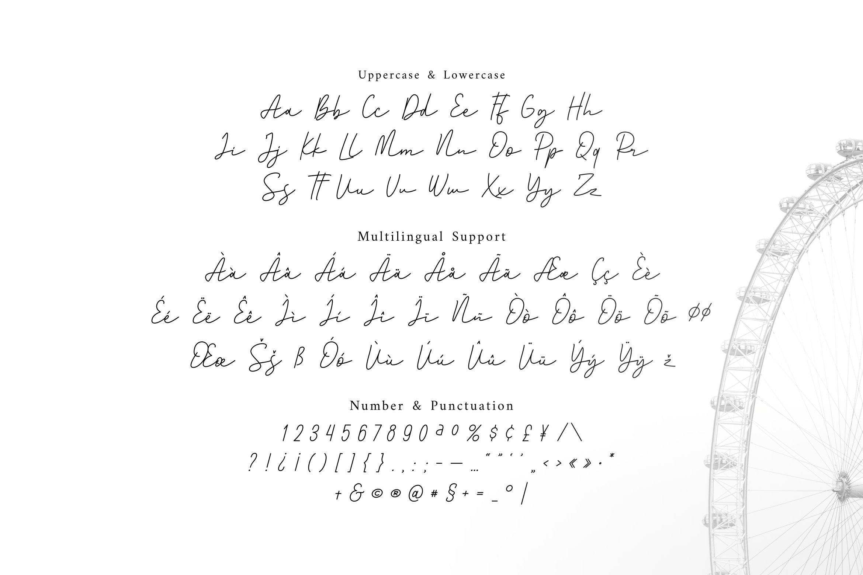 Santorica - Script Font example image 5
