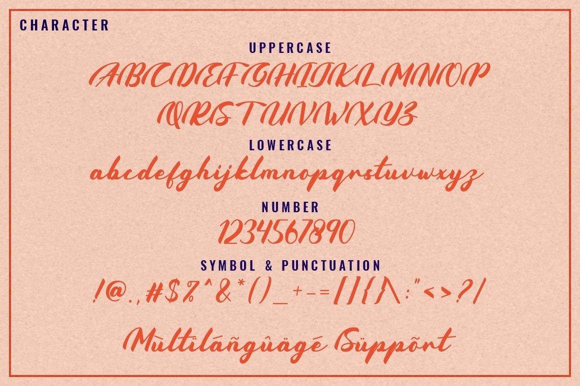 Coldcoast - Modern Handwritten Script example image 6