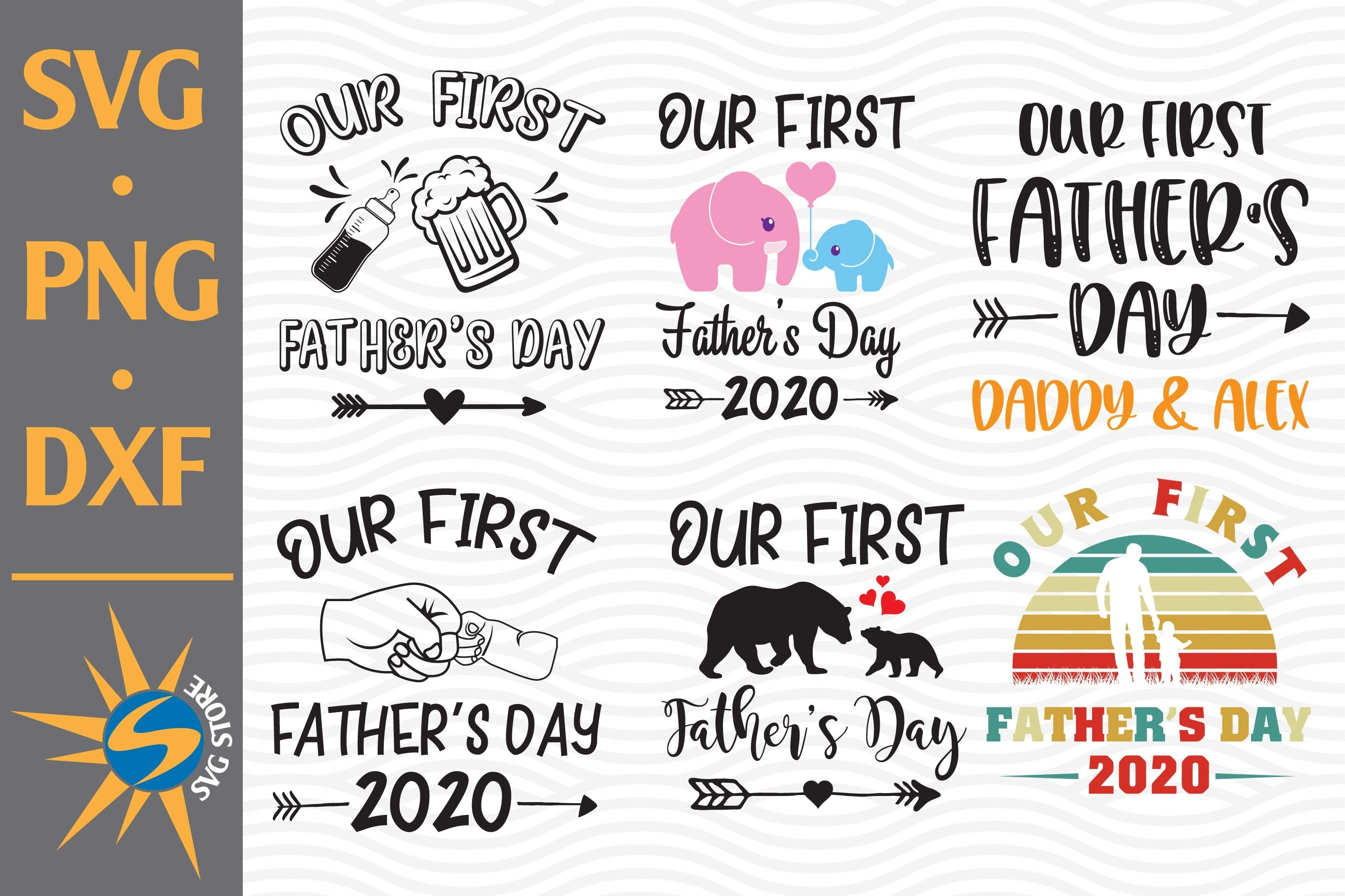 Free Or as it is called in russian день защитника отечества (den' zaschtschitnika otschestva)? Our First Father S Day Svg Png Dxf Digital Files Include 669231 Cut Files Design Bundles SVG, PNG, EPS, DXF File