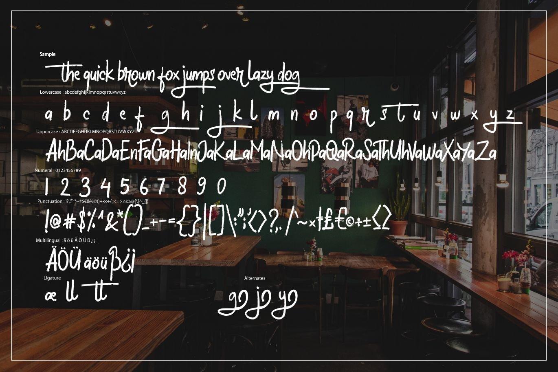 Halybed   Grunge Typeface Font example image 6
