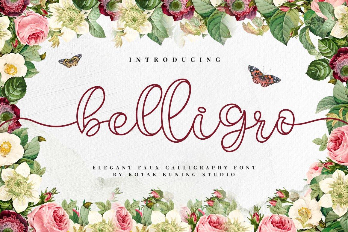 Belligro Script example image 1