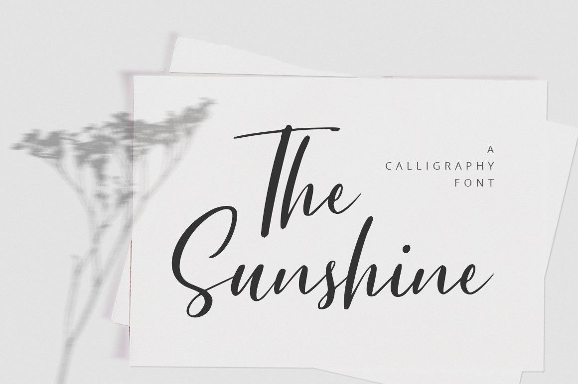 The Sunshine example image 1