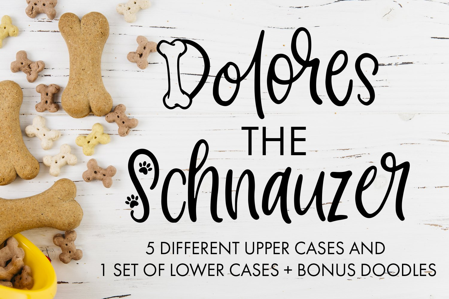 Dolores The Schnauzer - Different Designs With Bonus Doodles example image 1