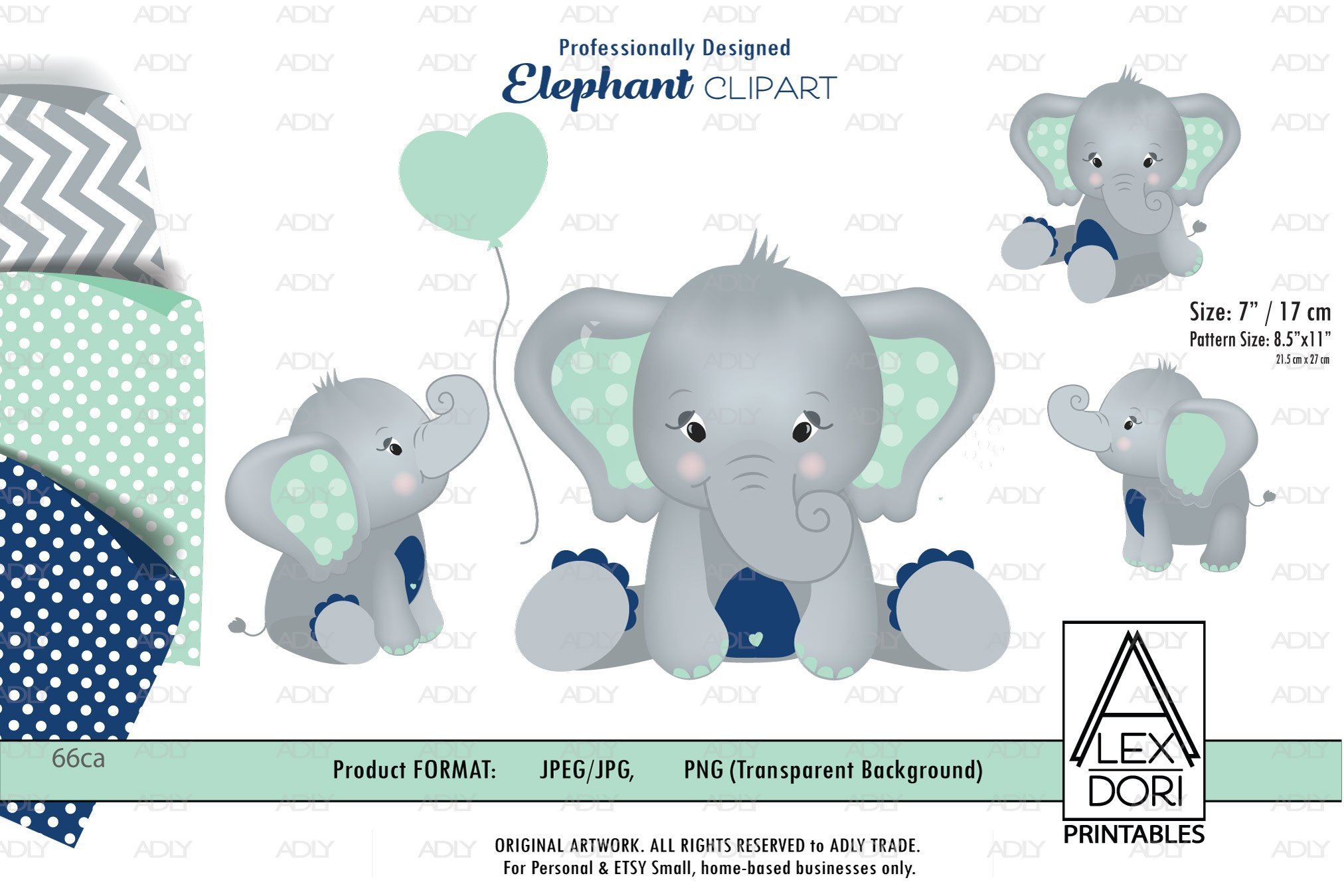 Mint And Navy Blue Baby Boy Elephant Png With Backgrounds 3 408996 Illustrations Design Bundles All our images are transparent and free for personal use. mint and navy blue baby boy elephant png with backgrounds 3