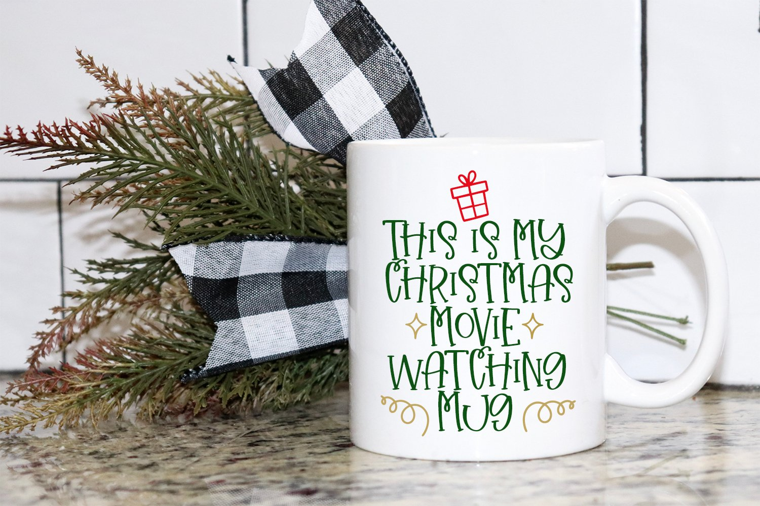 Christmas Wishes - A Christmas Handlettered Font Duo example image 2