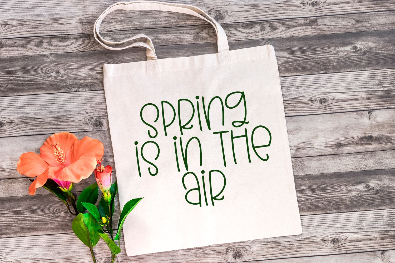 Simply Spring - A Quirky Hand-Lettered Font example image 4