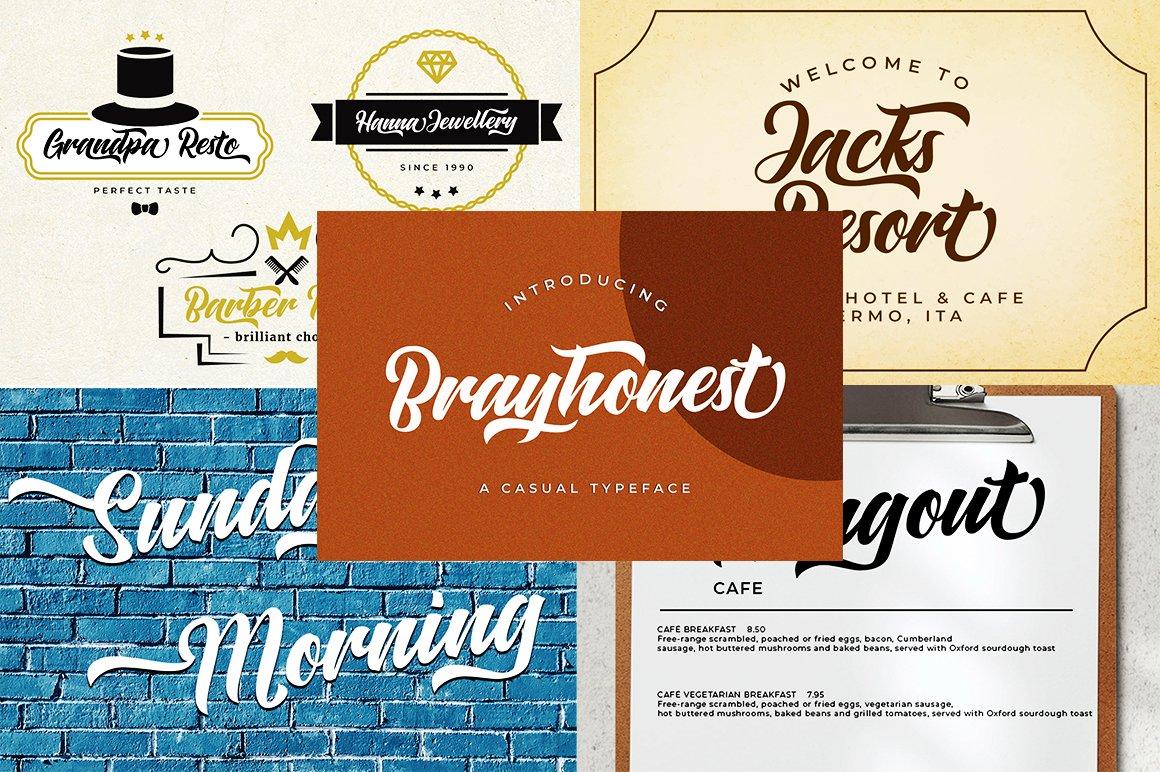 The Modern Font Bundle example image 2