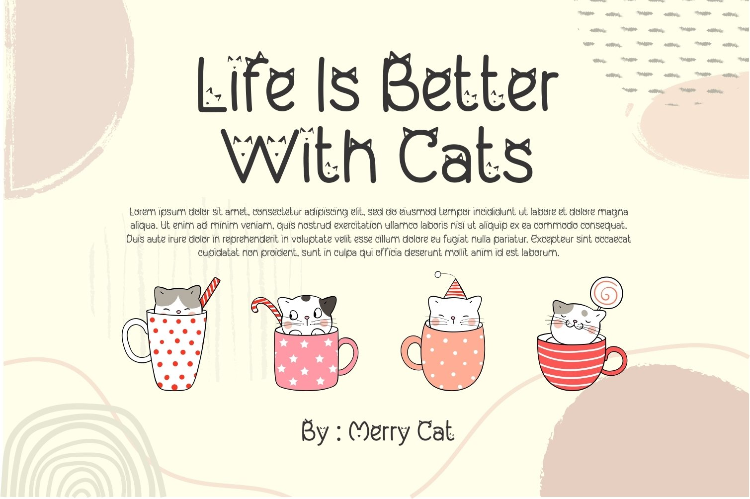 My Lovely Kitten - Cat Display Font example image 5