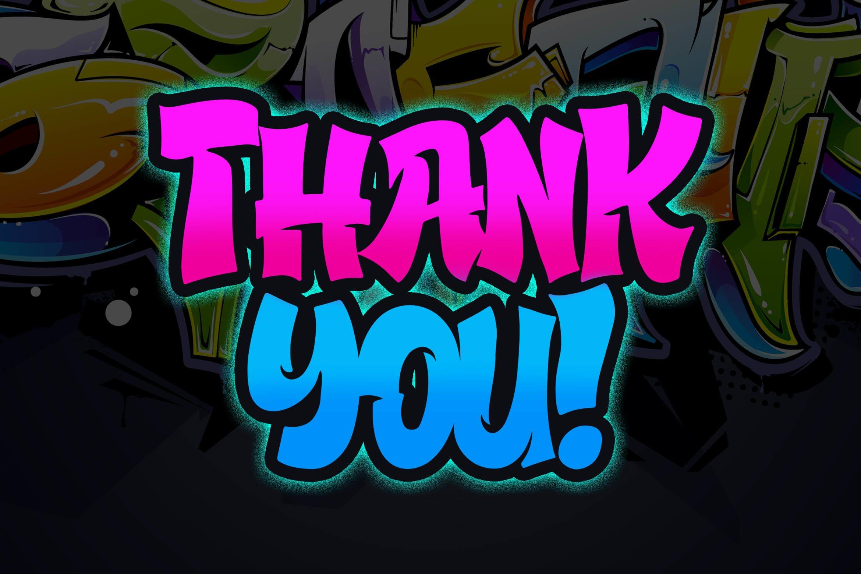 Street Hustle - Graffiti Font example image 6