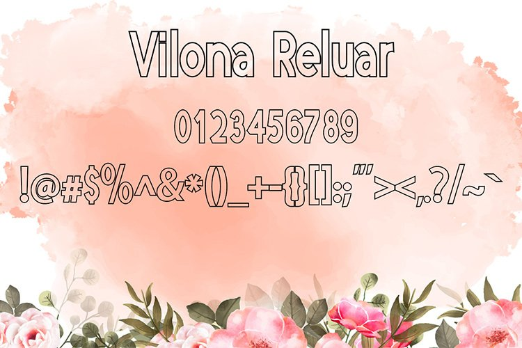 Vilona |Three Typeface example image 10