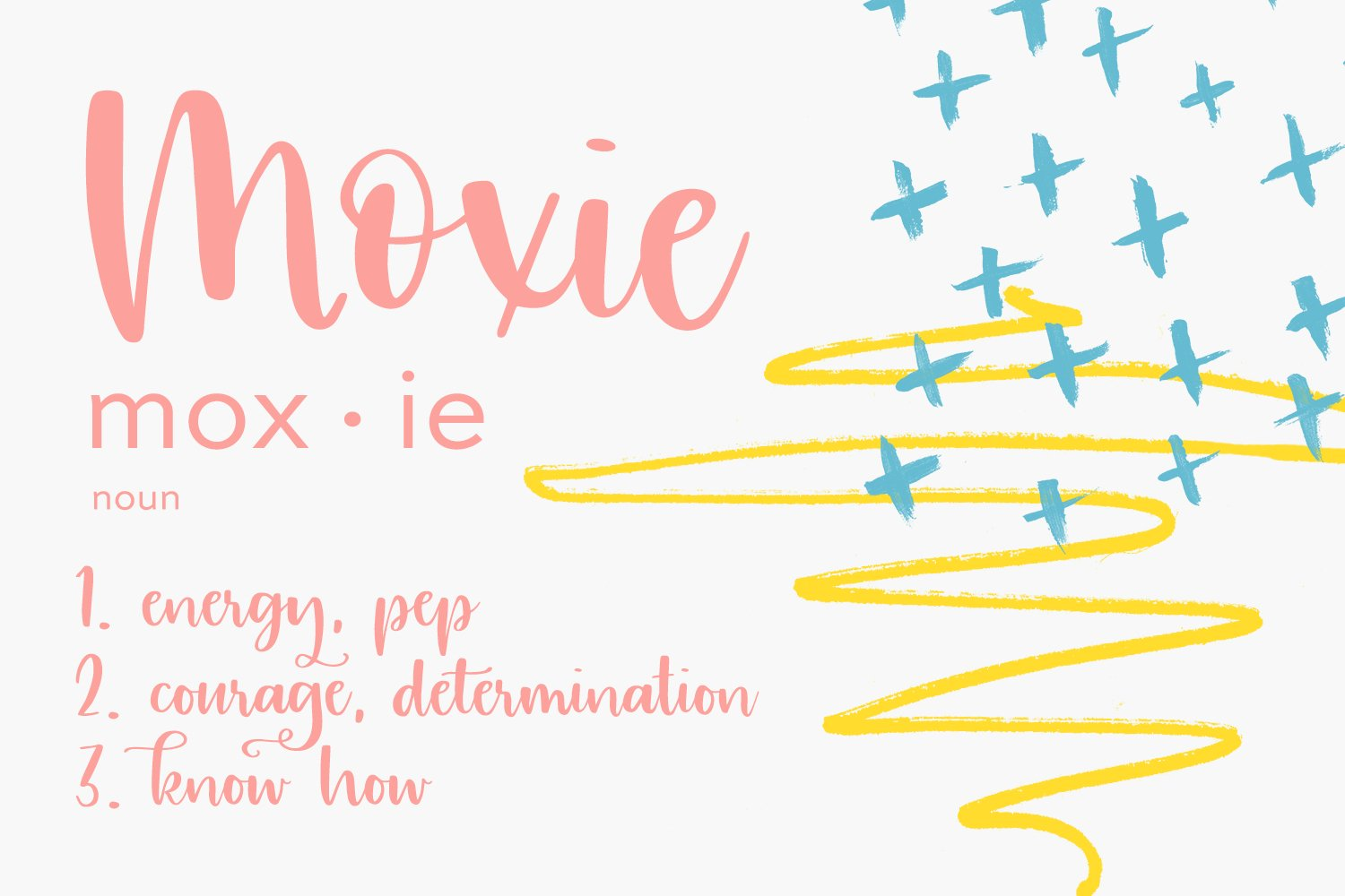 Moxie Modern Calligraphy Font example image 2