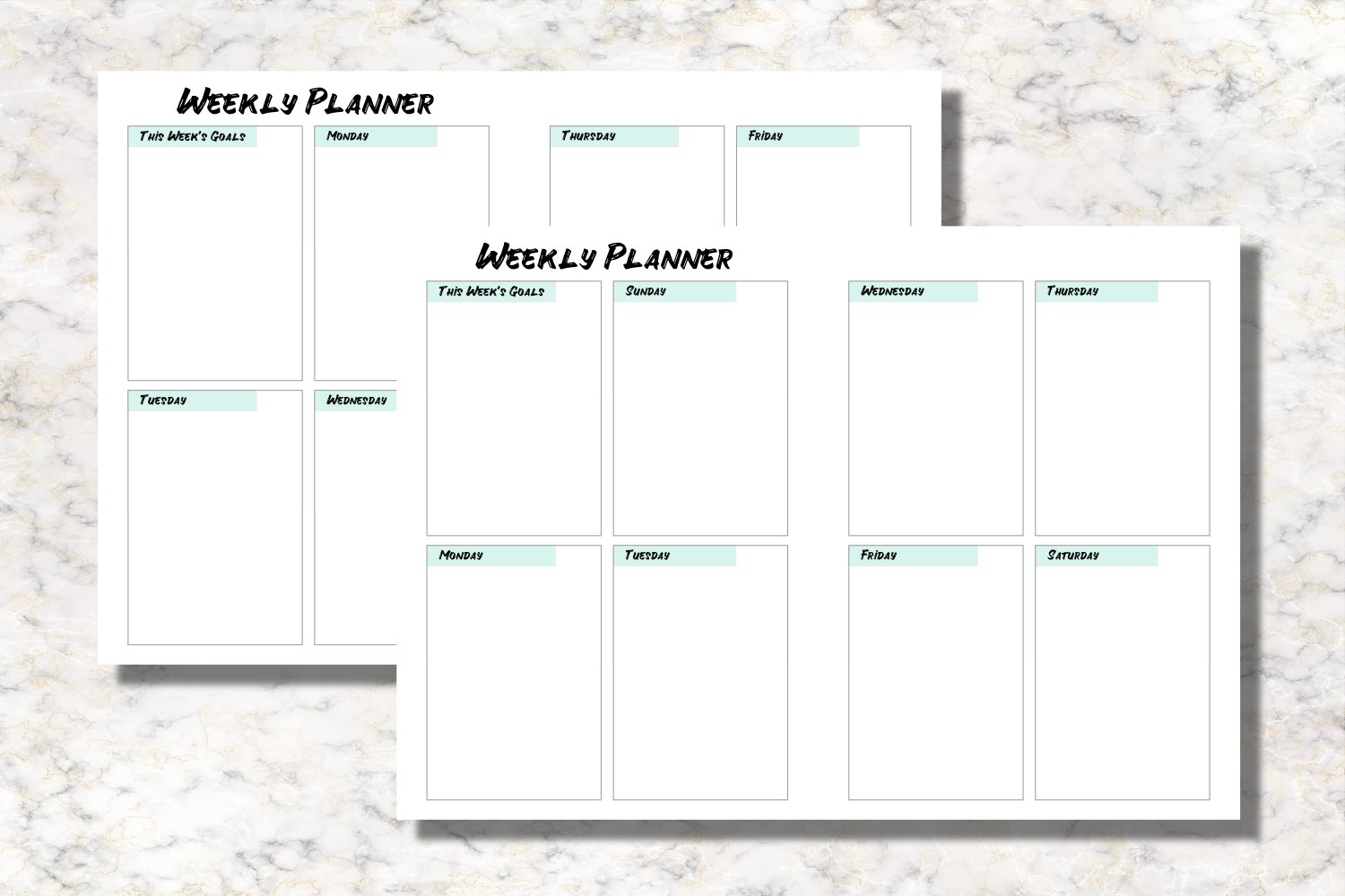 Air Balloon B6 Size Notebook Inserts Planner example image 2