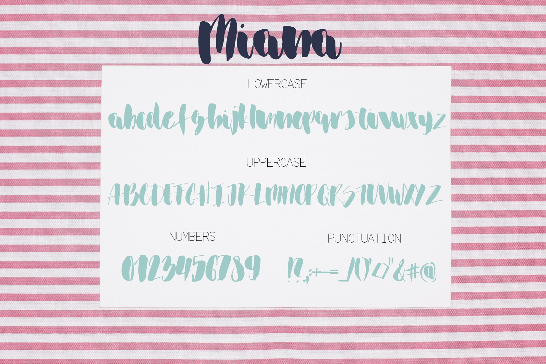 Miana Font example image 7