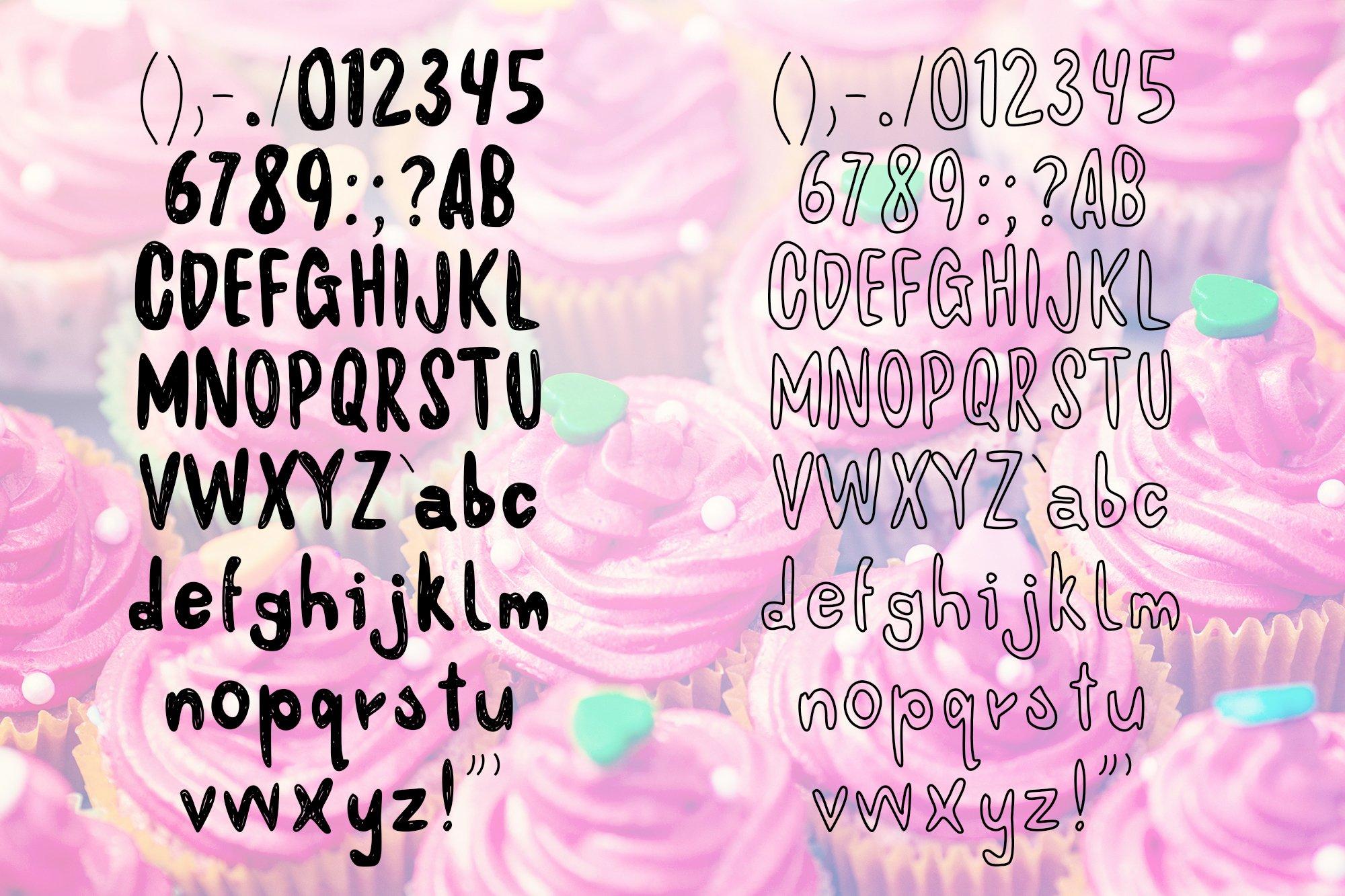 Maziaj and Maziak - 2 fonts example image 5