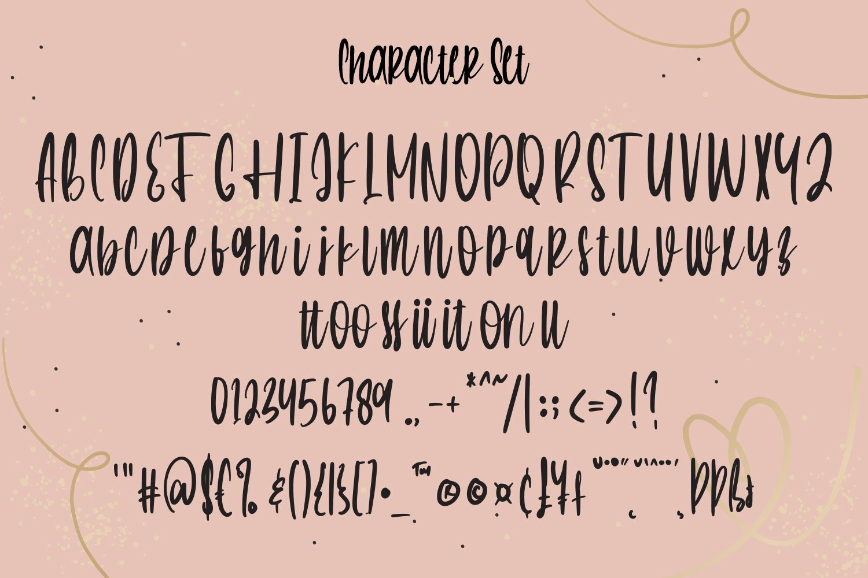 Breathless - Handwritten Script Font example image 7