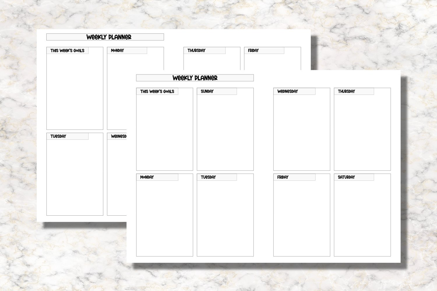 Sea Corals B6 Size Notebook Inserts Planner example image 2