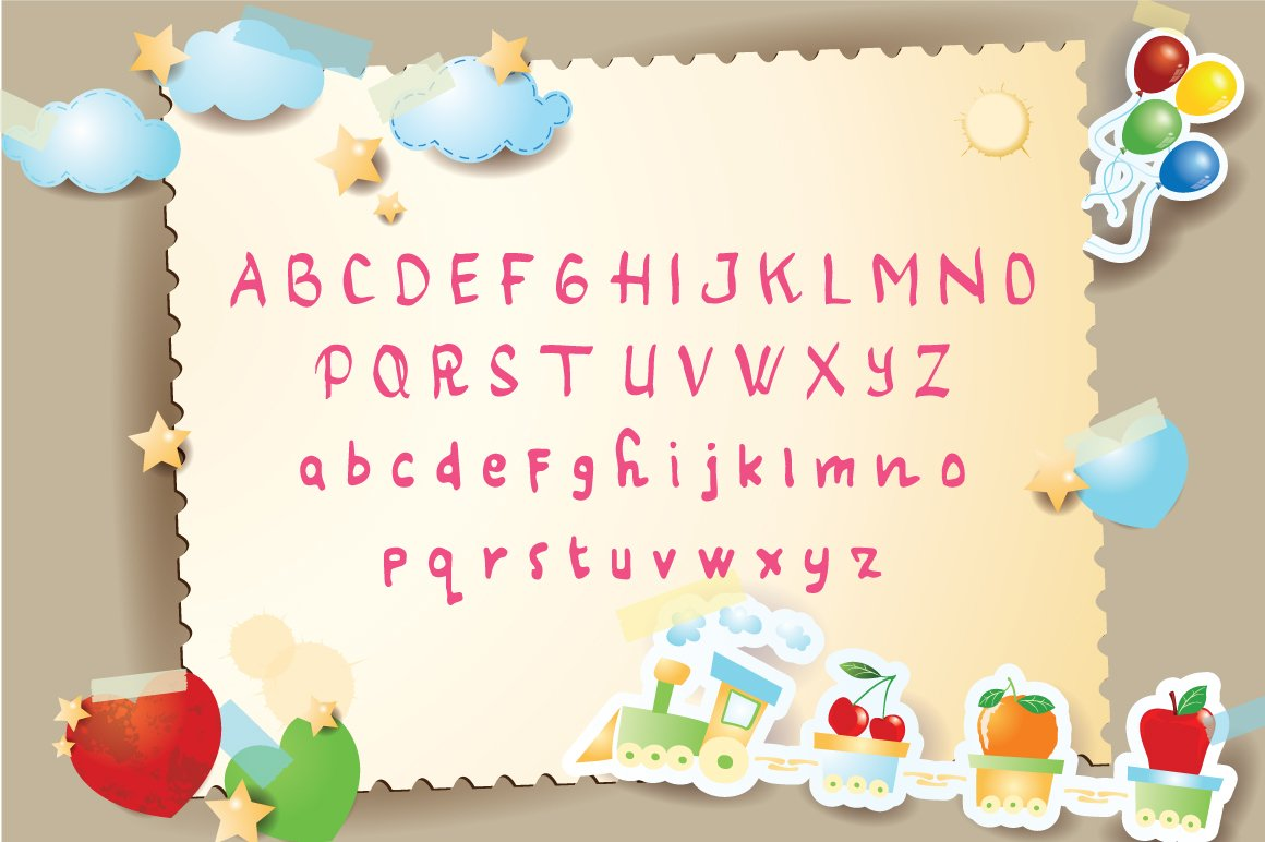 Cherry Blossom Typeface example image 4