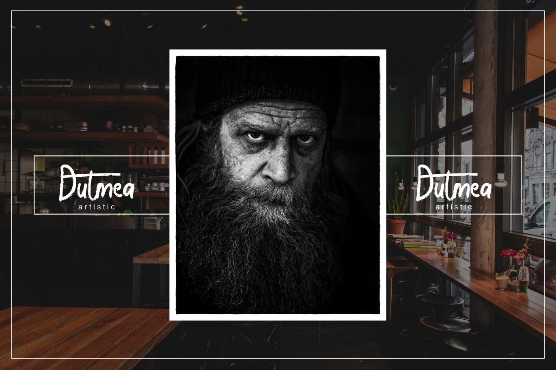 Halybed   Grunge Typeface Font example image 5
