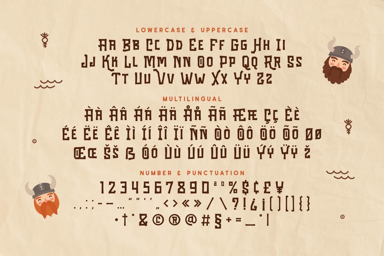 Strange - Powerful Display Font example image 5