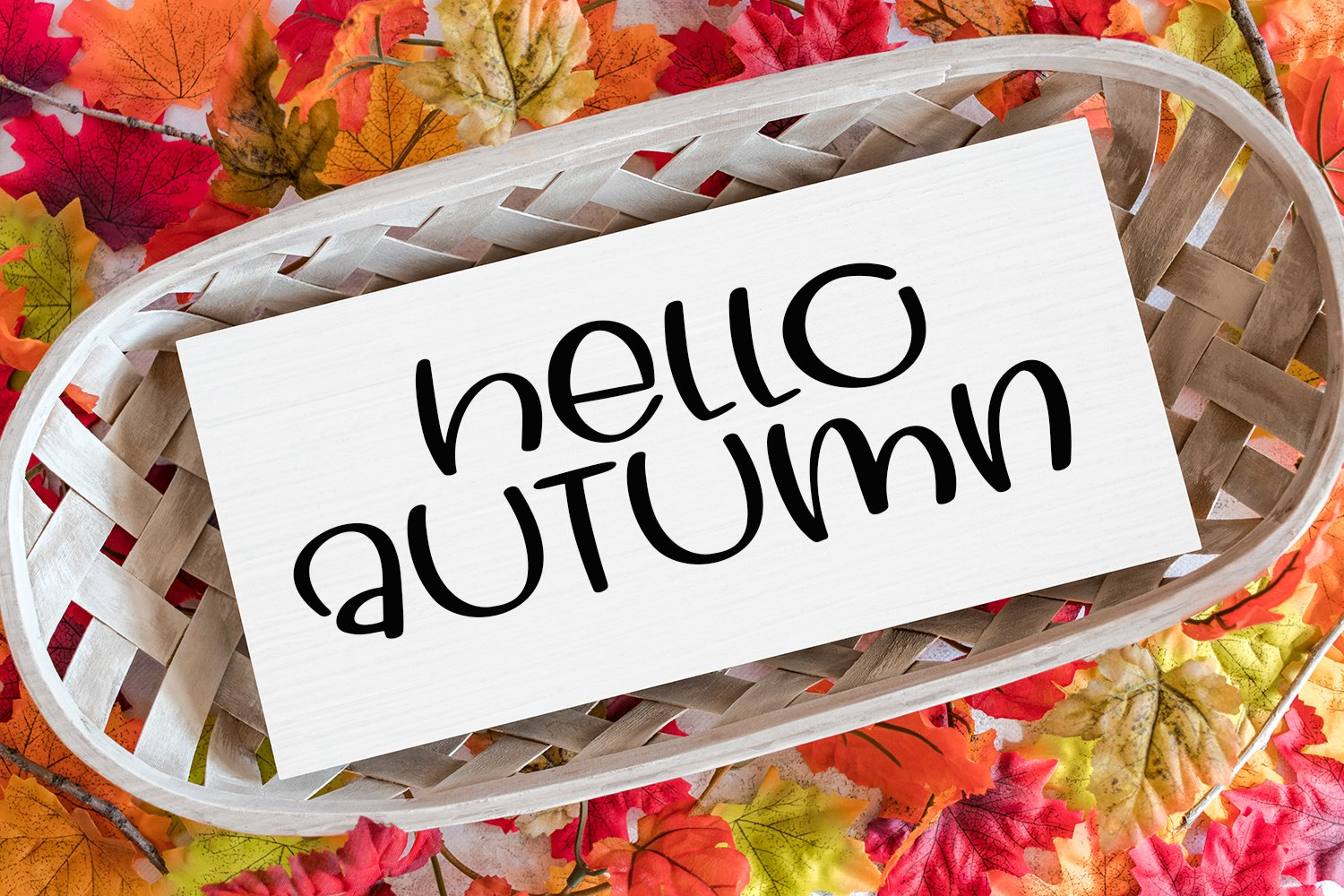 Goodbye Summer - A Hand-Lettered Fall Font example image 4