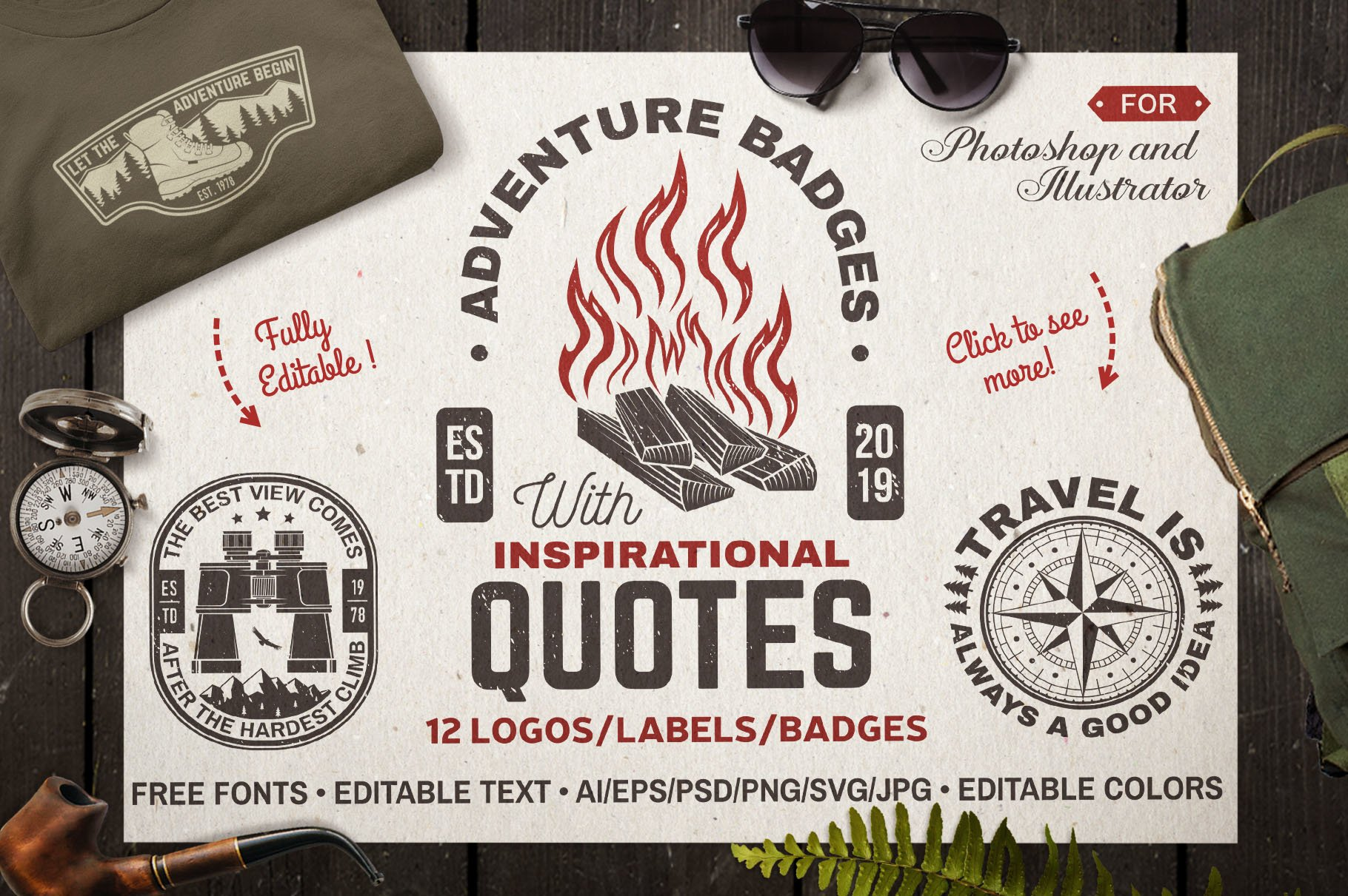 Adventure Badges example image 1
