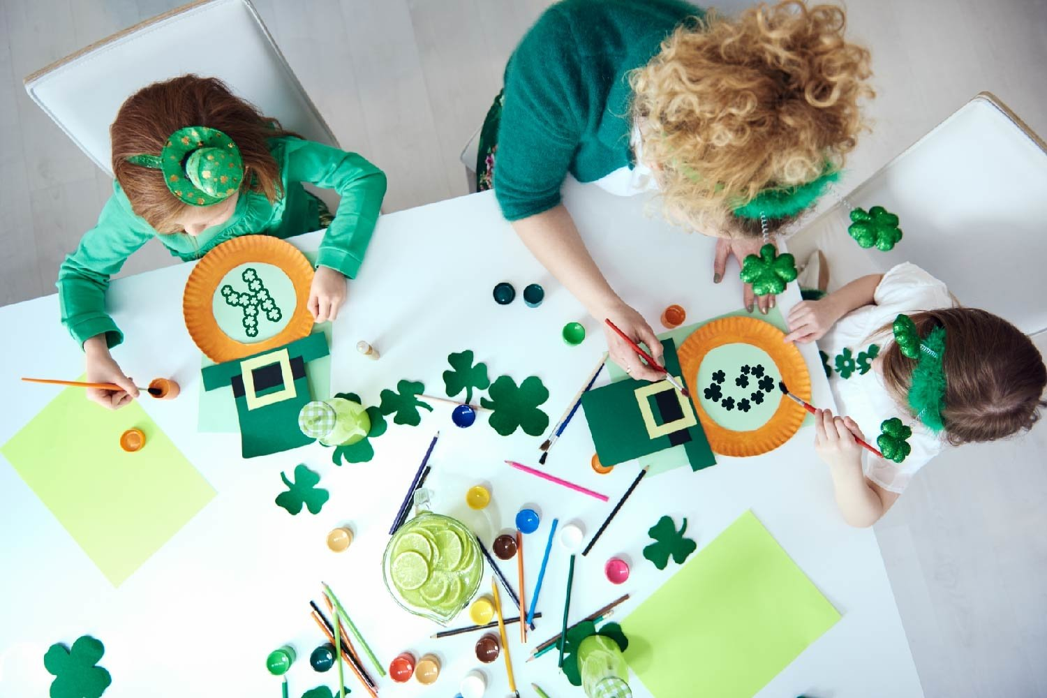 Pure Luck - A Shamrock Font Duo example image 5