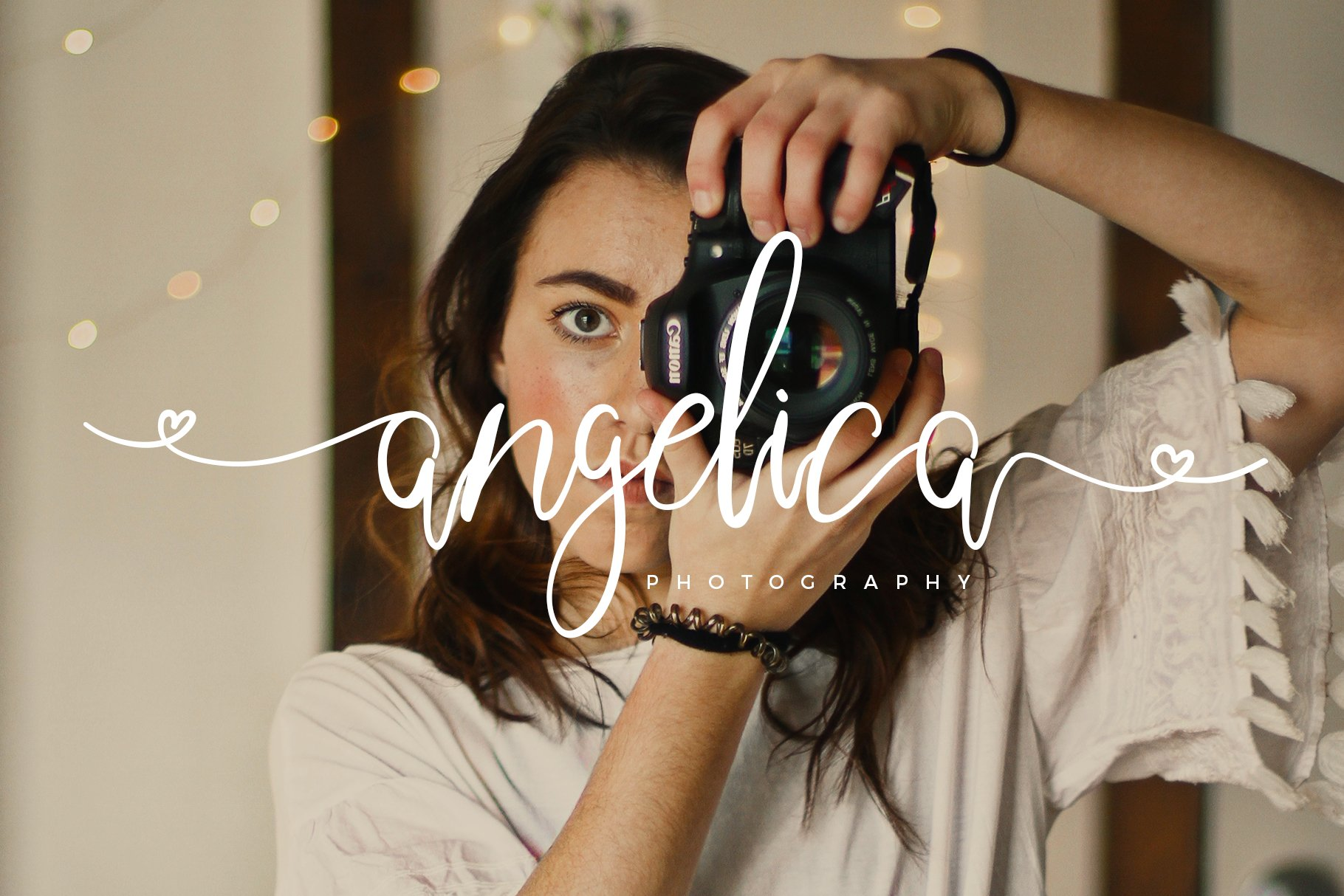 Sweetheart Lovely Calligraphy Font example image 12