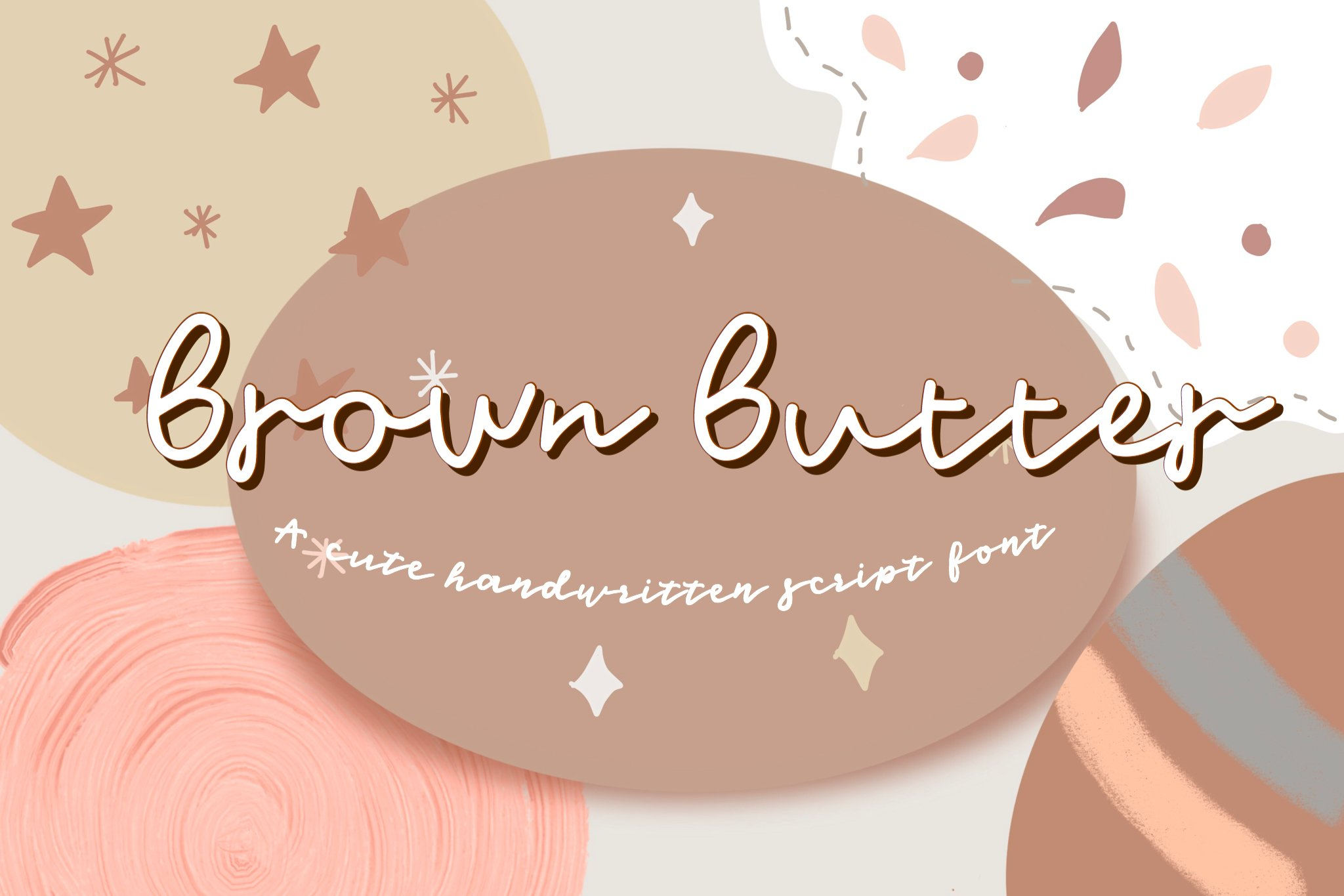 Brown Butter -Font example image 1