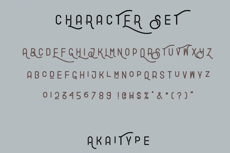 Explore - Combination Typeface example image 2