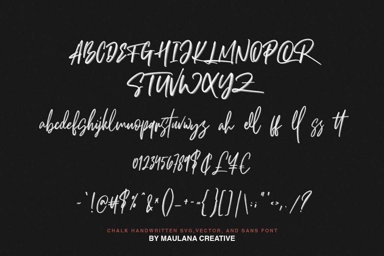 Brotthers - SVG Brush Free Sans Font example image 10