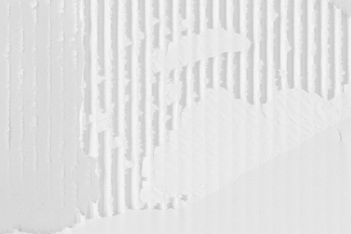 White Cardboard Textures 1 example image 7