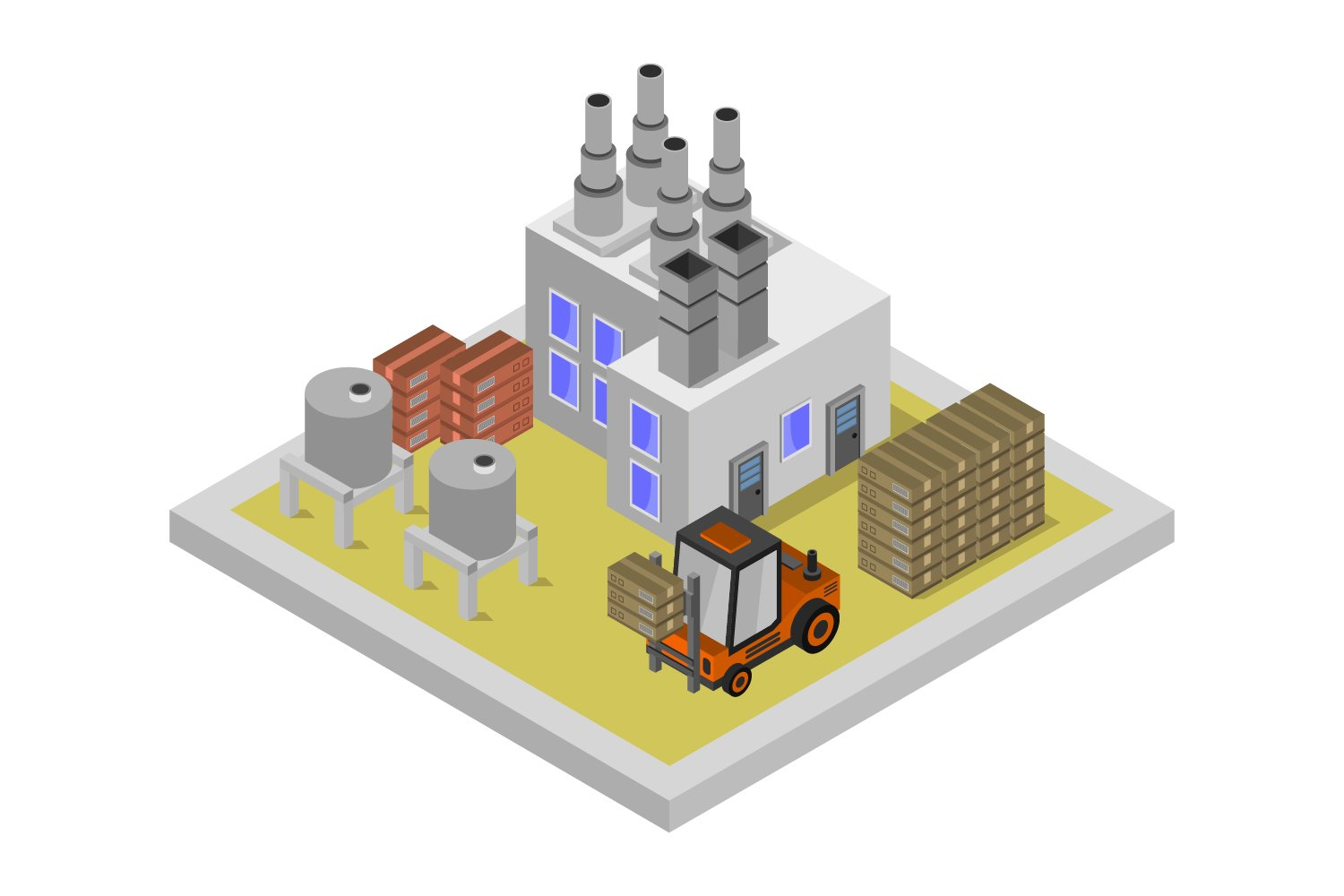 isometric industry example image 1
