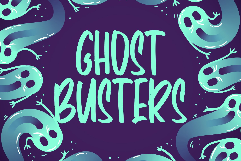 Panic Anthem - Hallowen Fonts example image 4